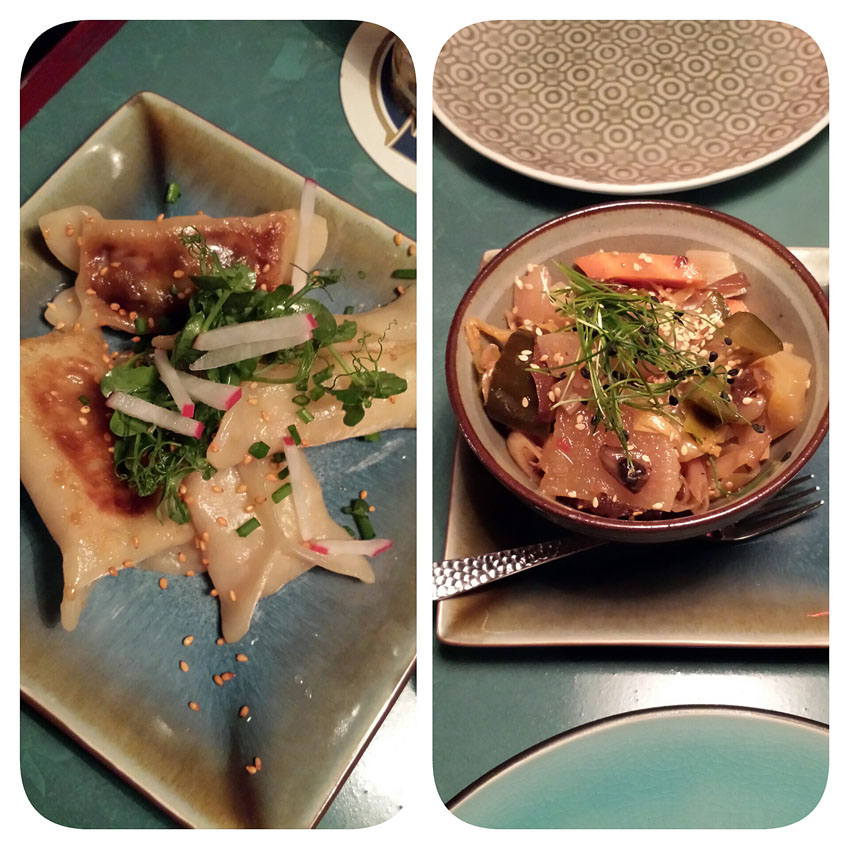 The Hutong Club Dumplings