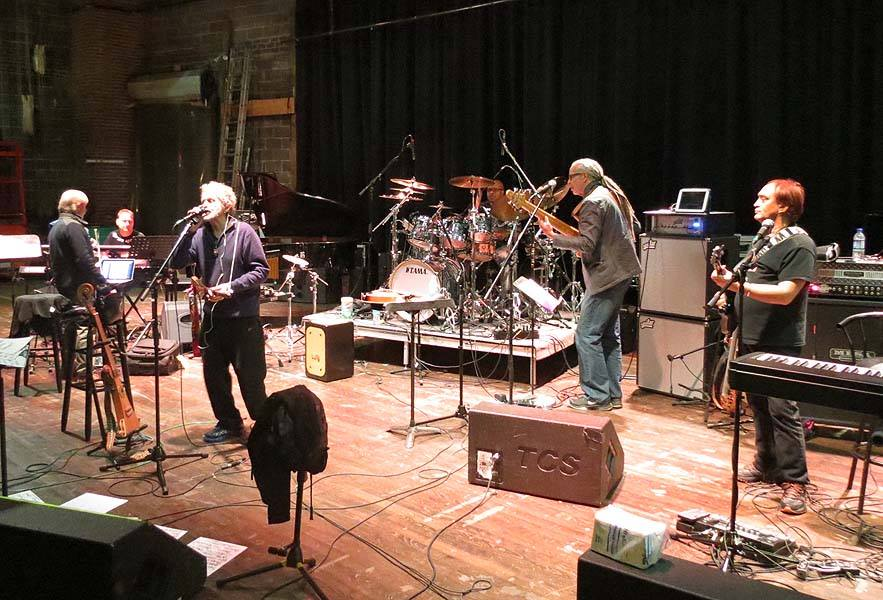 Anderson Ponty Band Rehearsal