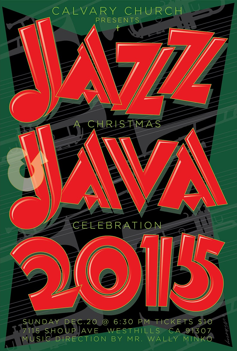 Jingle Bell Jazz and Java 2015 Poster