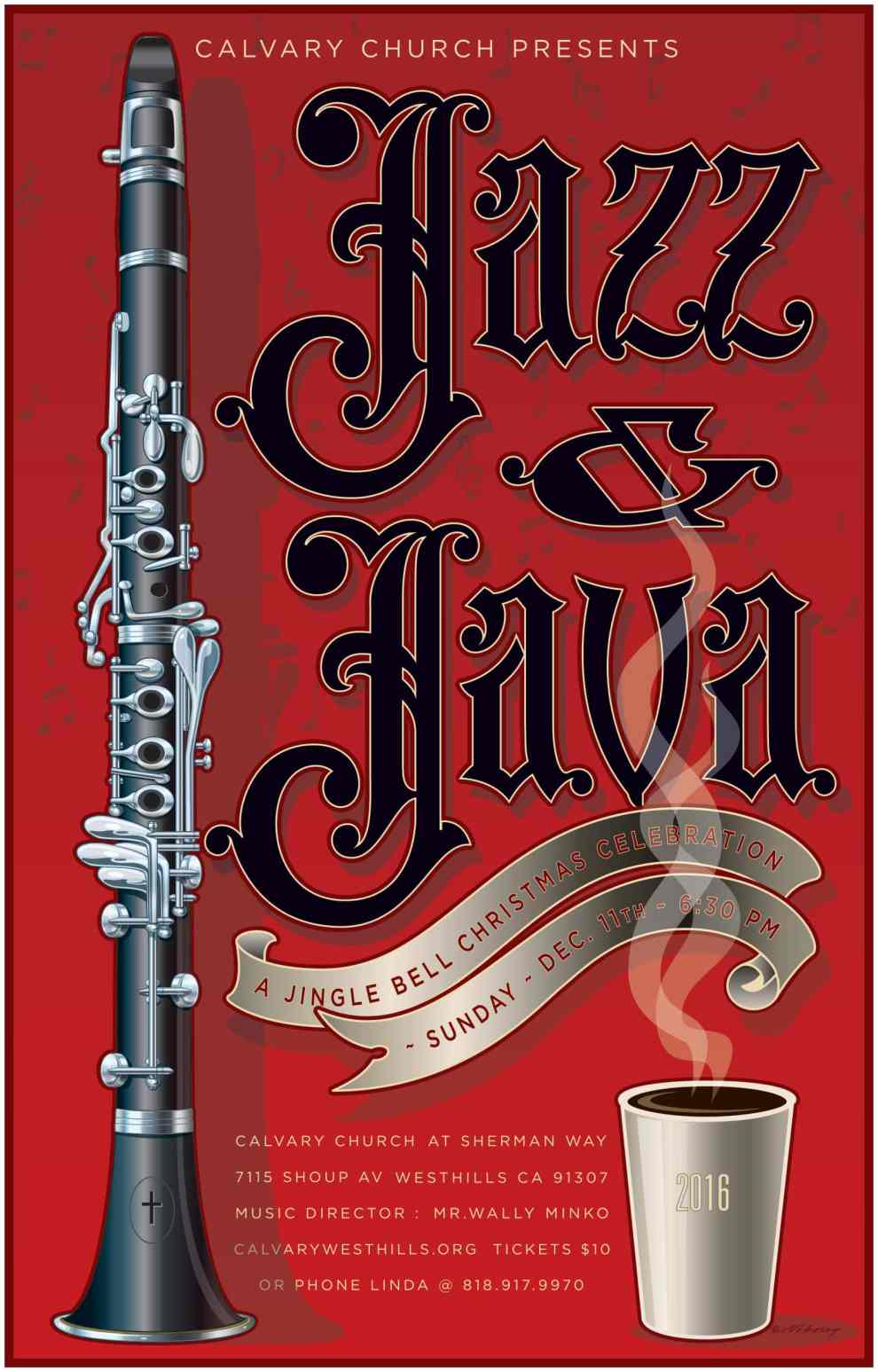 Jazz and Java 2016 - Program Cover
