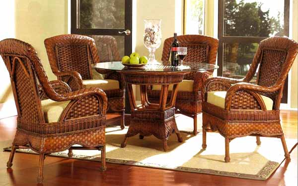 These days wicker furniture has become exceptionally popular with a wide choice of tables, chairs, loungers and more to choose from.