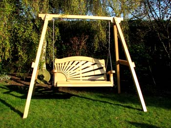 A garden swing is one of the best things that you can have in your garden as your outdoor furniture. This is an excellent ways to relax.
