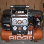 Ridgid Mobile Air Compressor