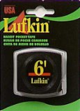 Lufkin Handy Pocket Tape, 1/4