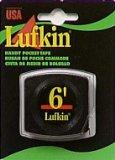 Lufkin Handy Pocket Tape, 1/4