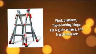 Little Giant Ladder | Step Ladder With Multiple Uses