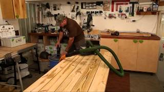 Using the Festool HL 850 planer with the Rockler Vortex dust collector