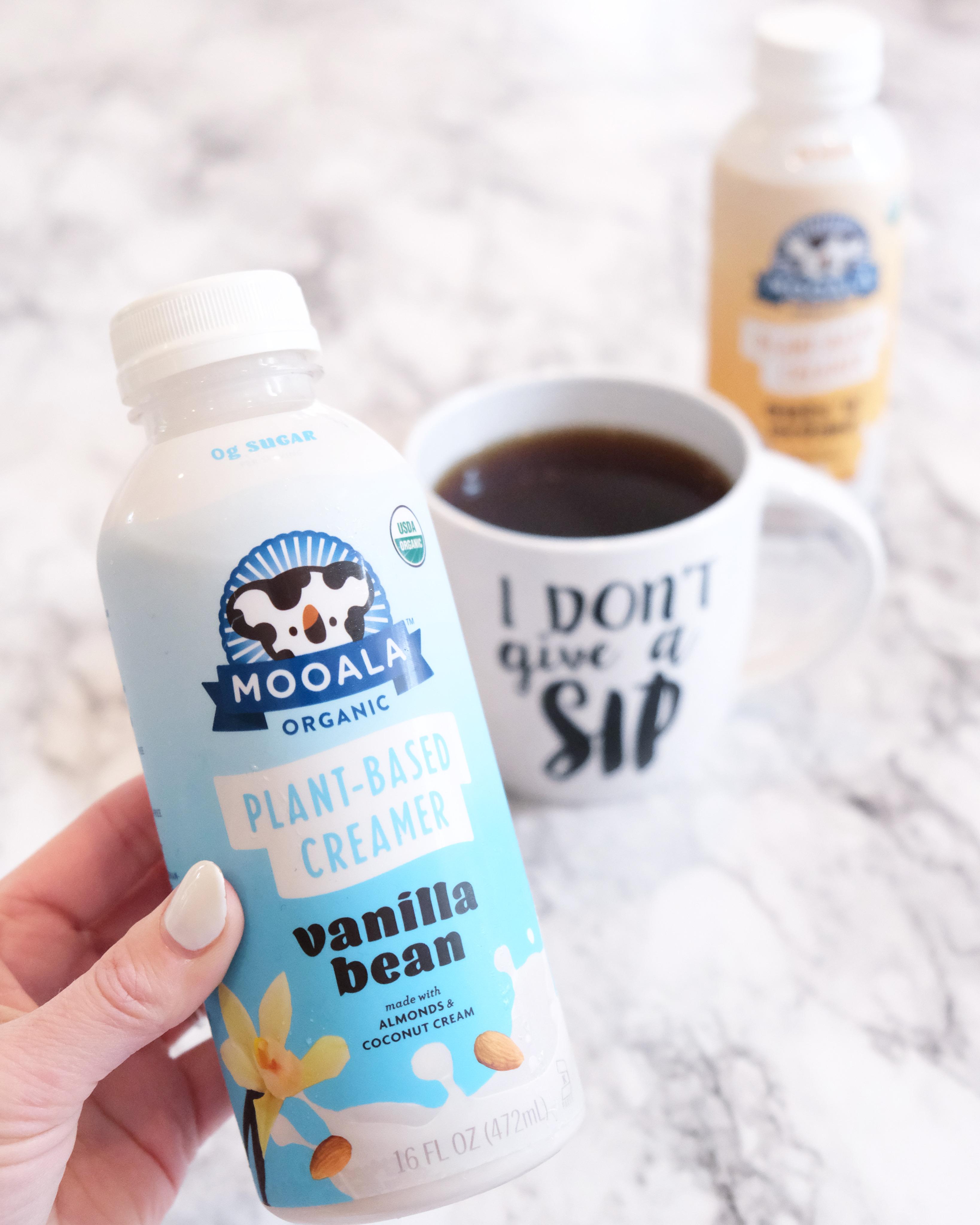 mooala organic plant-based creamer and milk