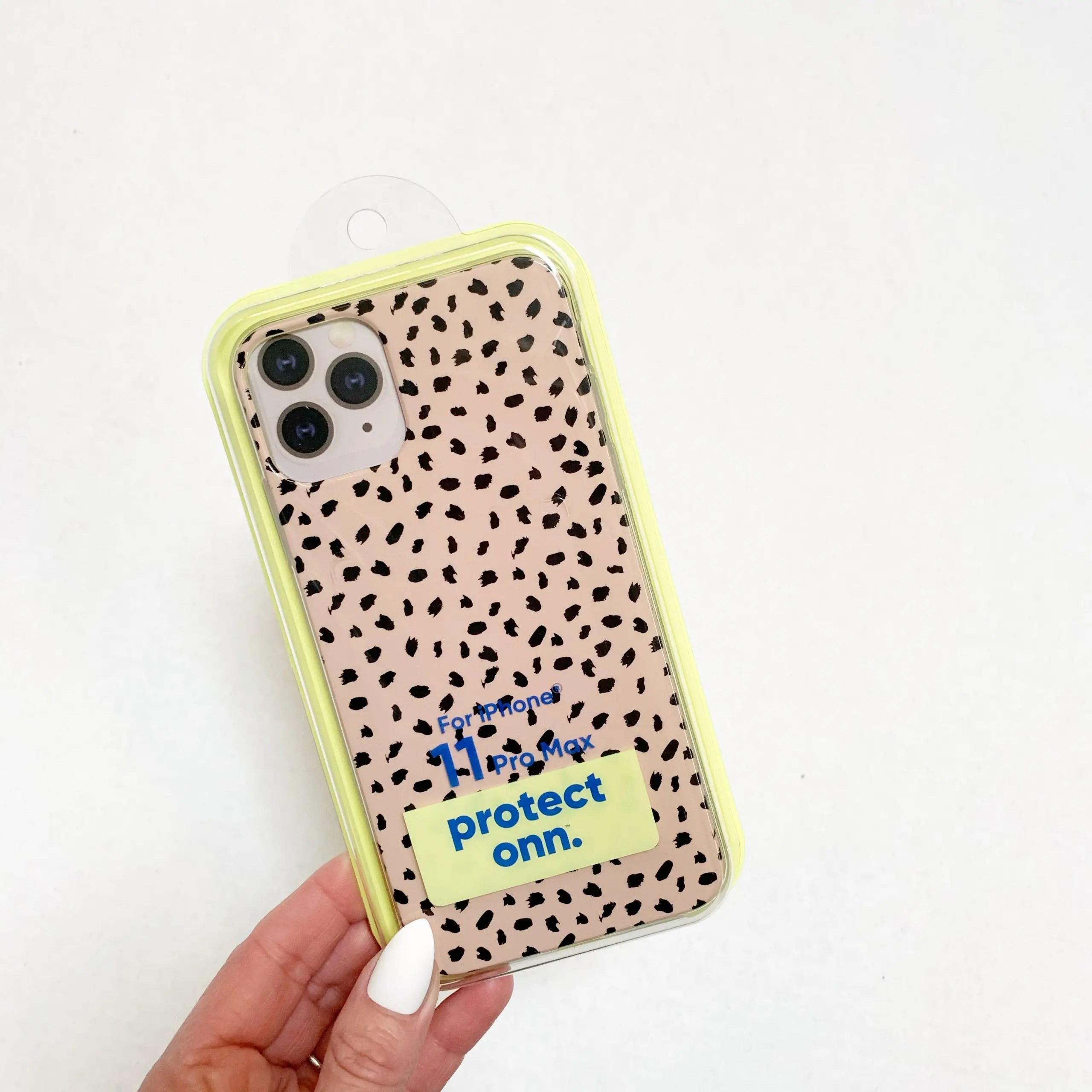 onn. iPhone case - cheetah print iPhone case