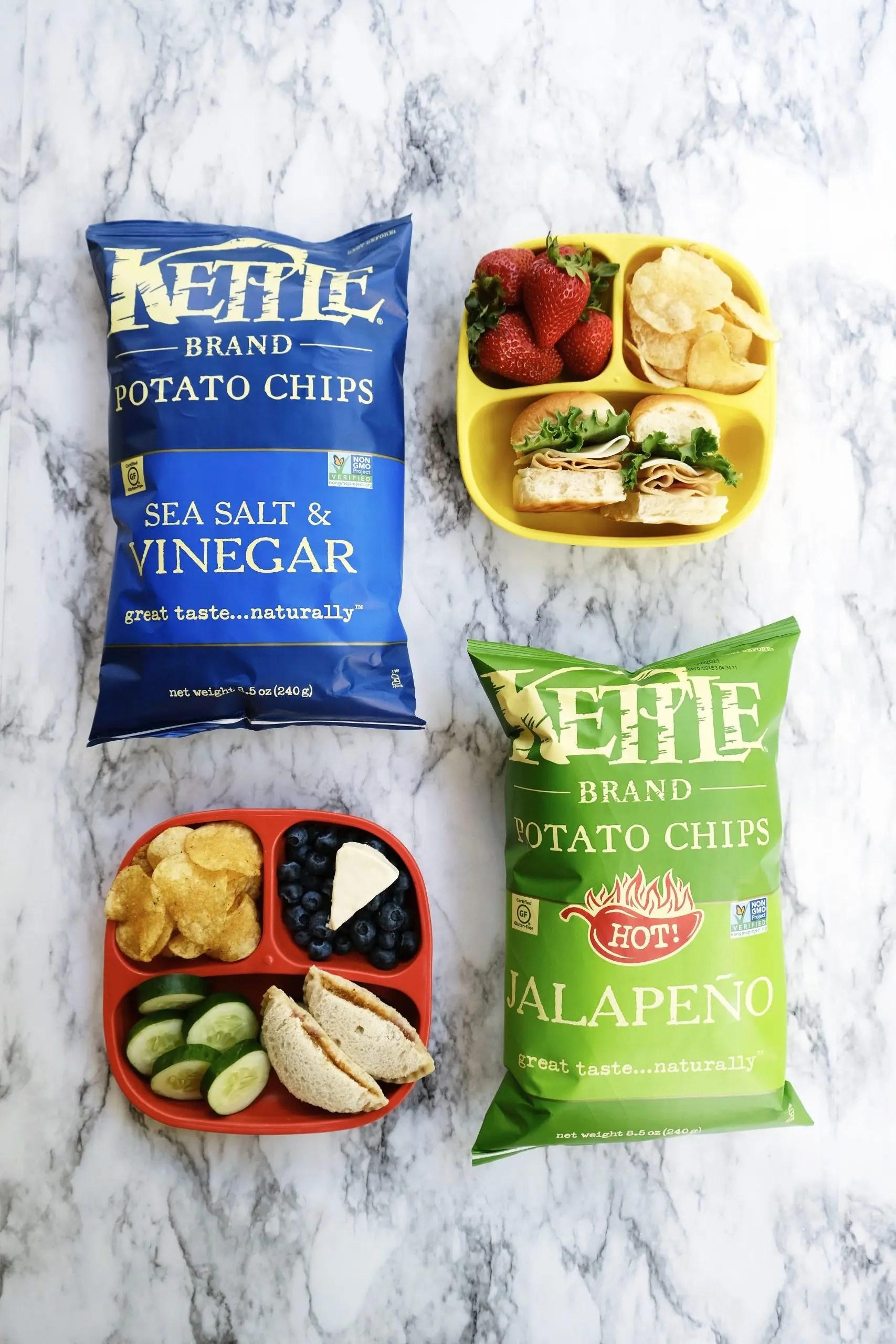 kettle brand chips at walmart - kids lunch ideas
