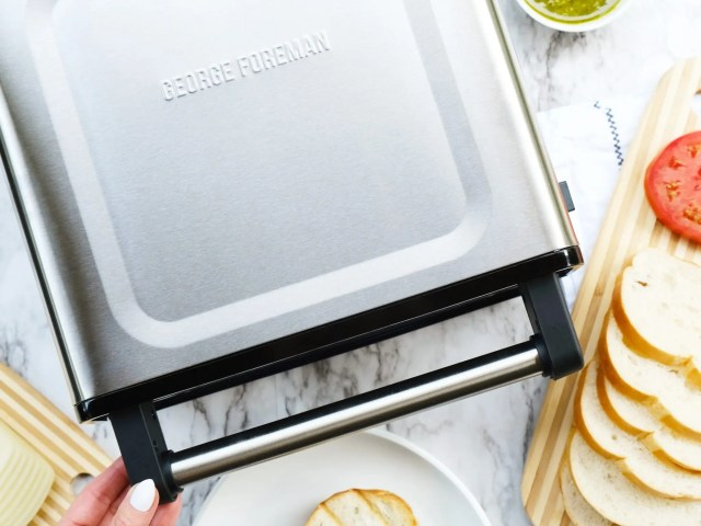George Foreman Contact Smokeless Grill at Walmart