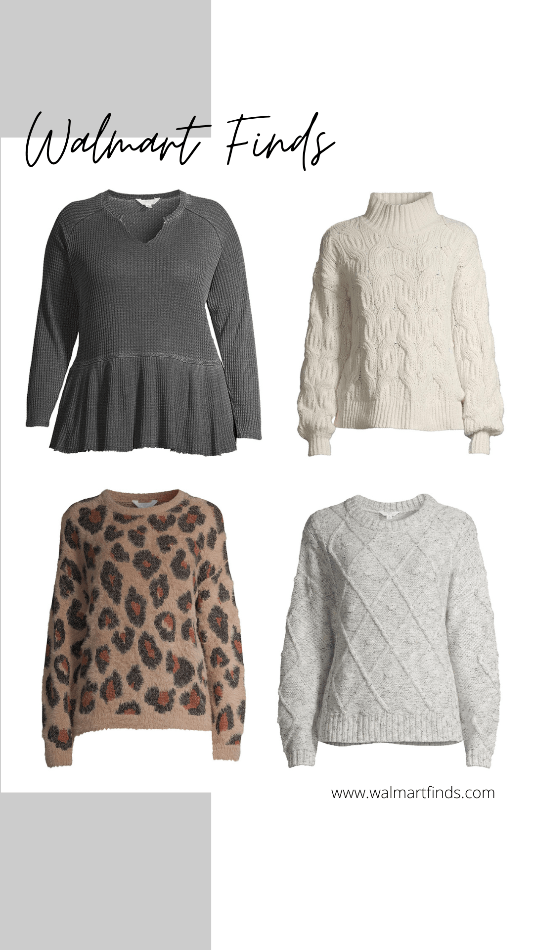 new time and tru sweater arrivals and plus size peplum