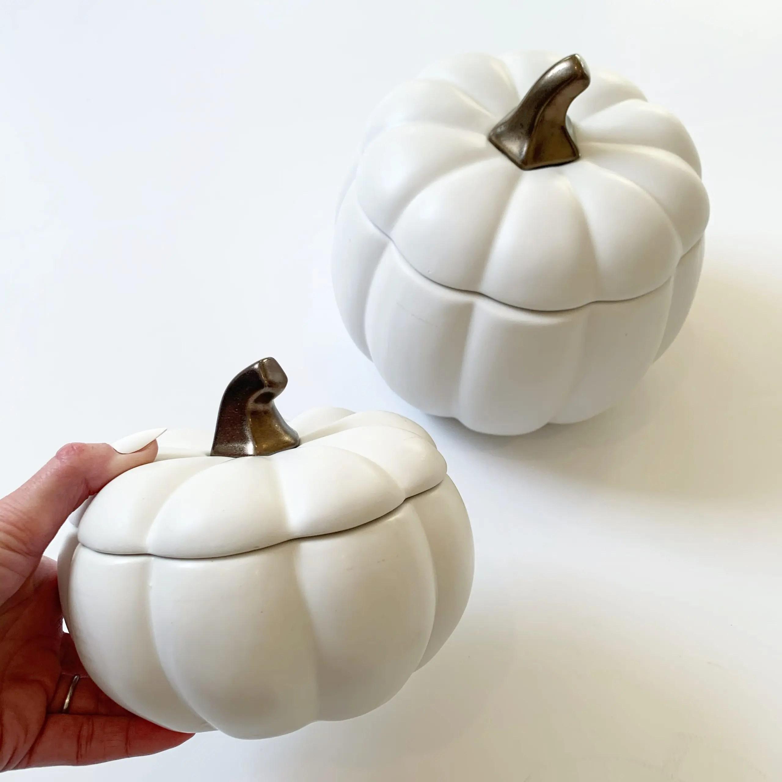 Way To Celebrate Pumpkin Cookie Jars