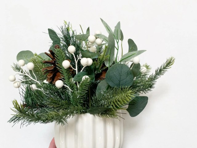 Mainstays Holiday Faux Pine Centerpiece