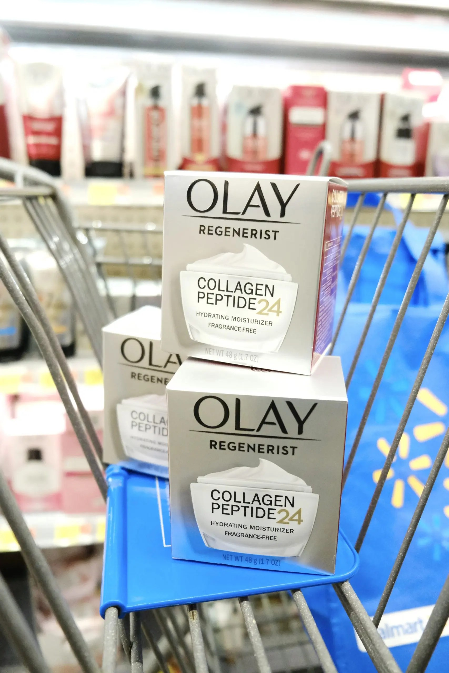 Olay Regenerist Collagen Peptide 24 + Ibotta Offer at Walmart