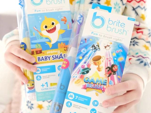 BriteBrush Kids Interactive Toothbrush