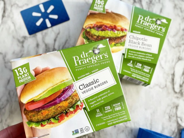 Dr. Praeger's Refrigerated Classic Veggie and Chipotle Black Bean Burgers