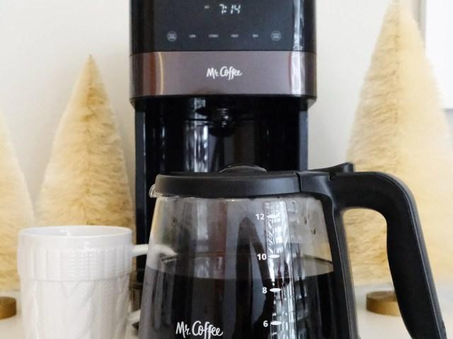 Mr. Coffee Touch Coffeemaker at Walmart