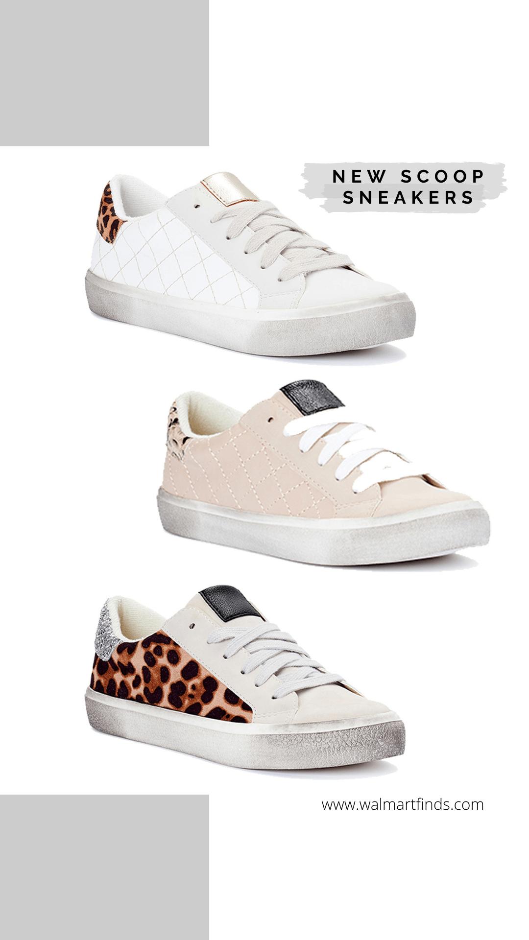 New Scoop Sneakers - golden goose dupes