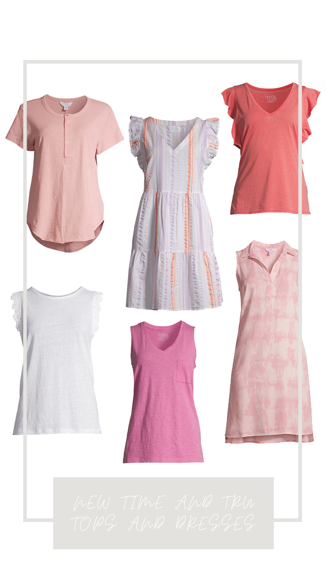 New Time and Tru Dresses and Tops