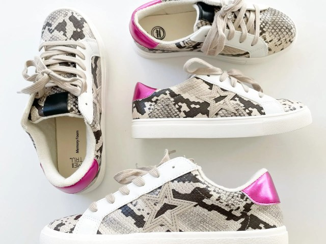 Mommy & Me Matching Sneakers – Time and Tru and Wonder Nation Sneakers