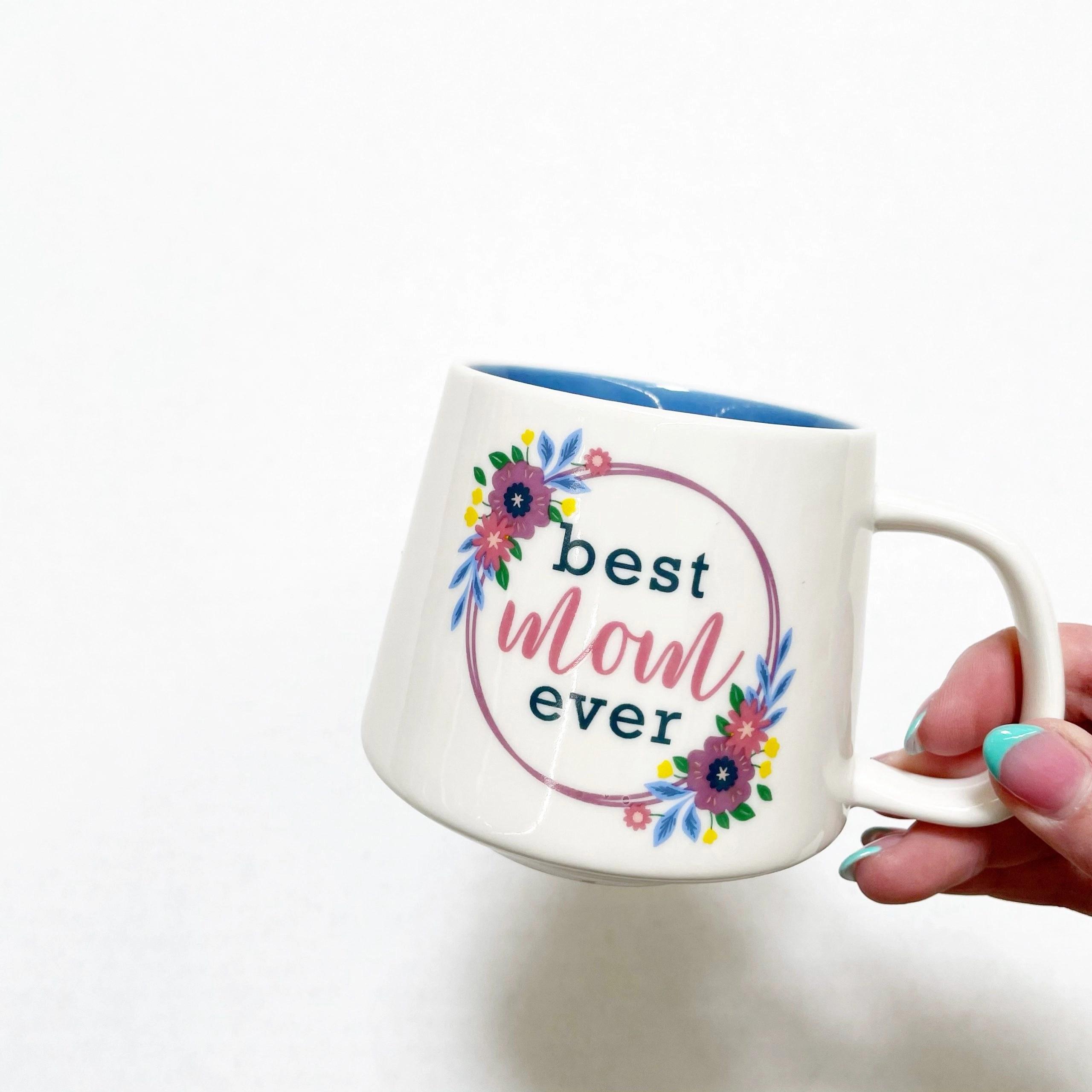 "Way To Celebrate Mother's Day ""Best Mom Ever"" Ceramic Mug"