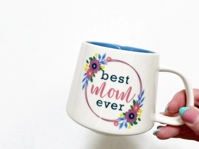 "Way To Celebrate Mother's Day ""Best Mom Ever"" Ceramic Mug"