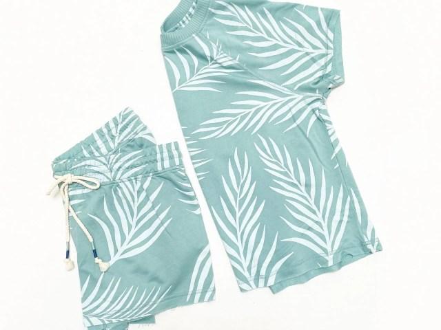 Secret Treasures Women's Lounge Frond Shorts Set