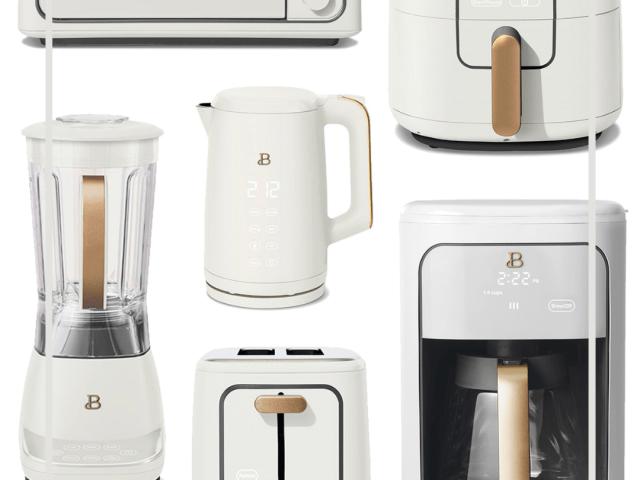 Beautiful Kitchen Appliances by Drew Barrymore