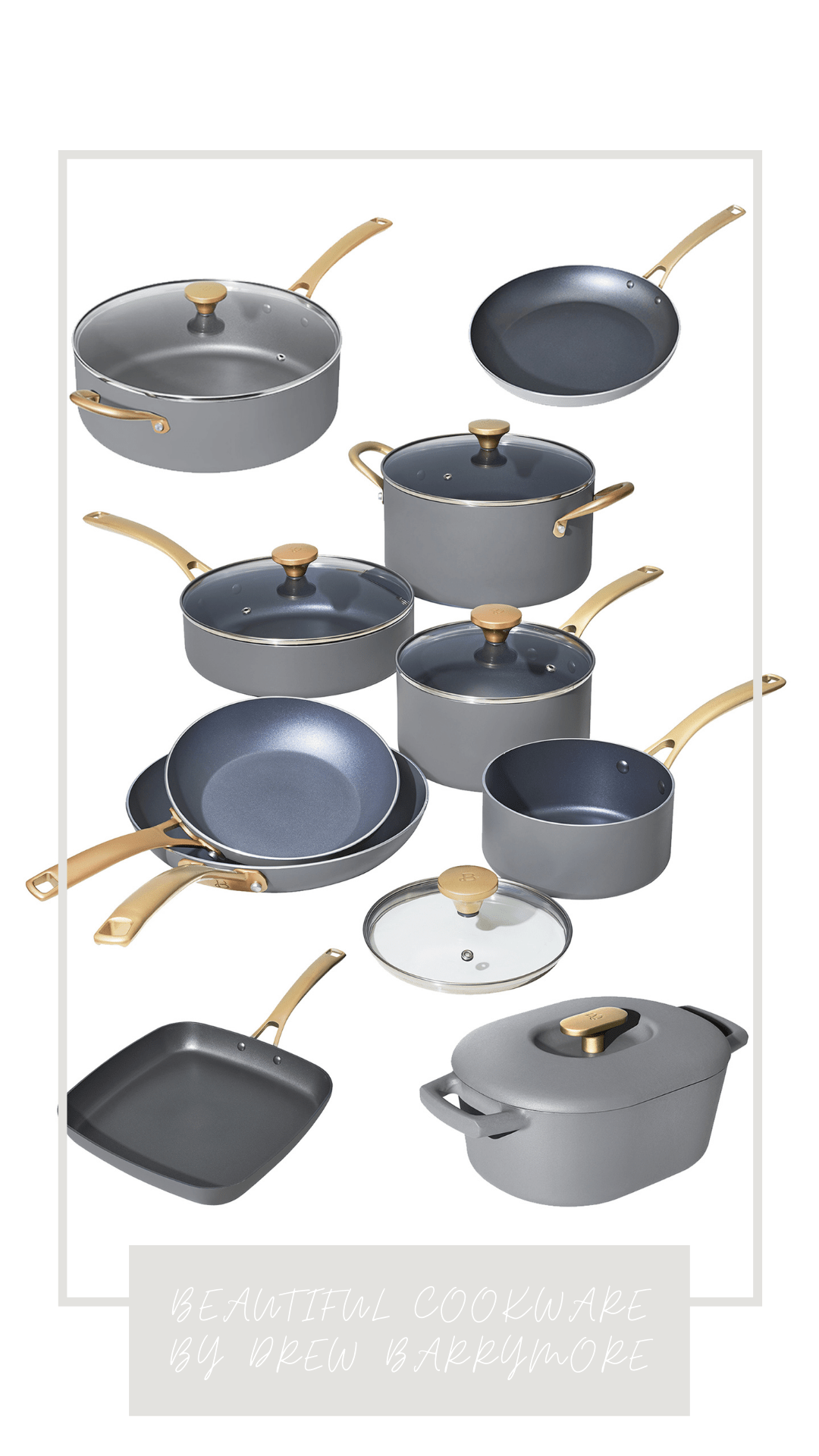 Beautiful Cookware by Drew Barrymore