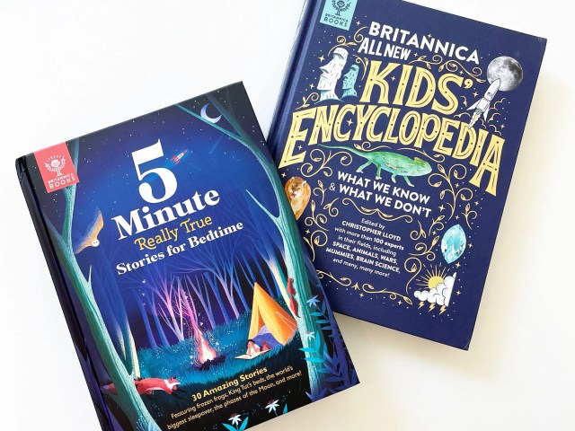Britannica 5-Minute Really True Stories and Kids' Encyclopedia
