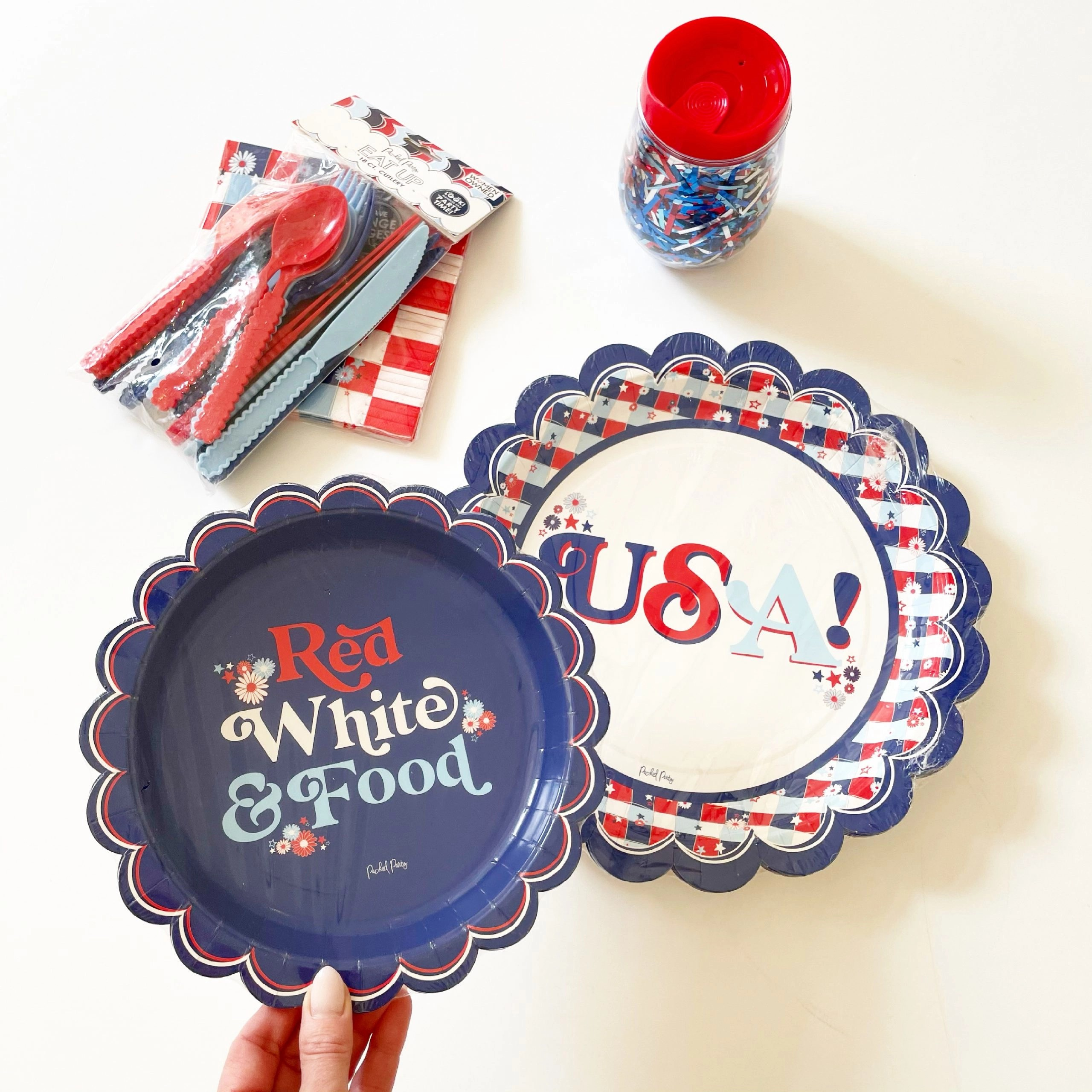 Packed Party Patriotic Party Supplies