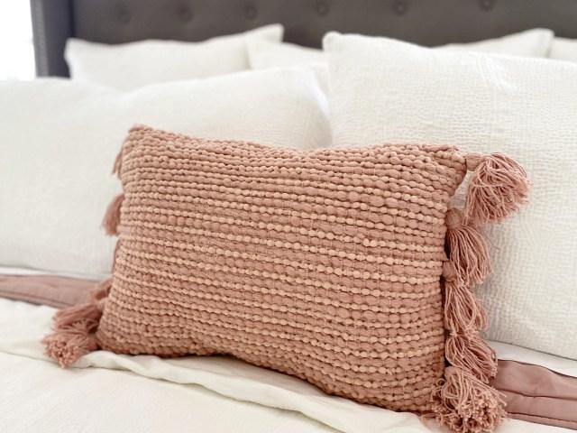 My Texas House Katy Tassel Oblong Decorative Pillow
