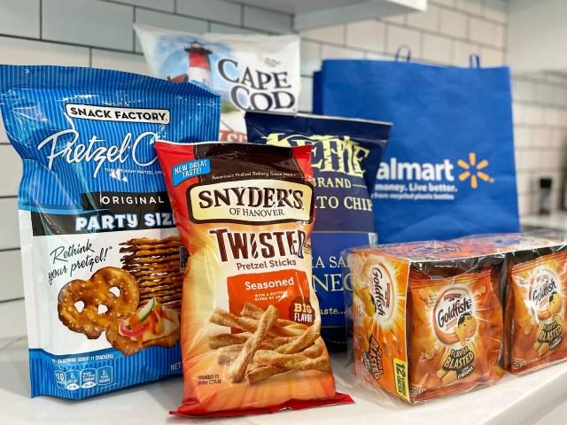 Summer Snacking Favorites – Goldfish, Snyder's Twisted Pretzel Sticks, Kettle Brand Chips and More