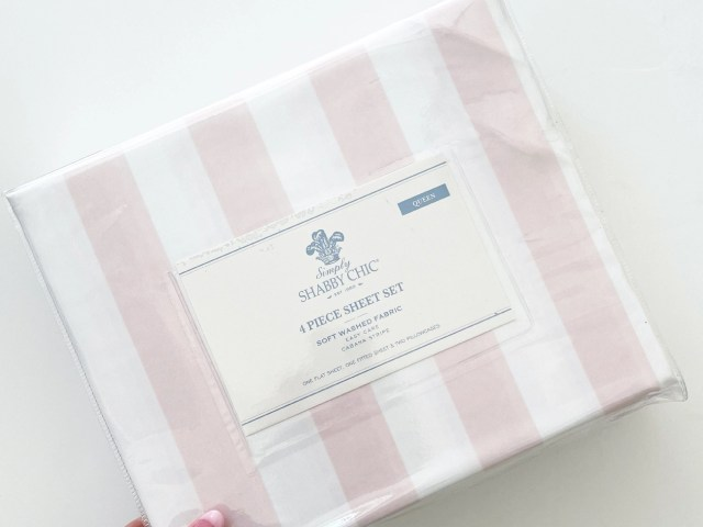Simply Shabby Chic Cabana Stripe Sheet Set
