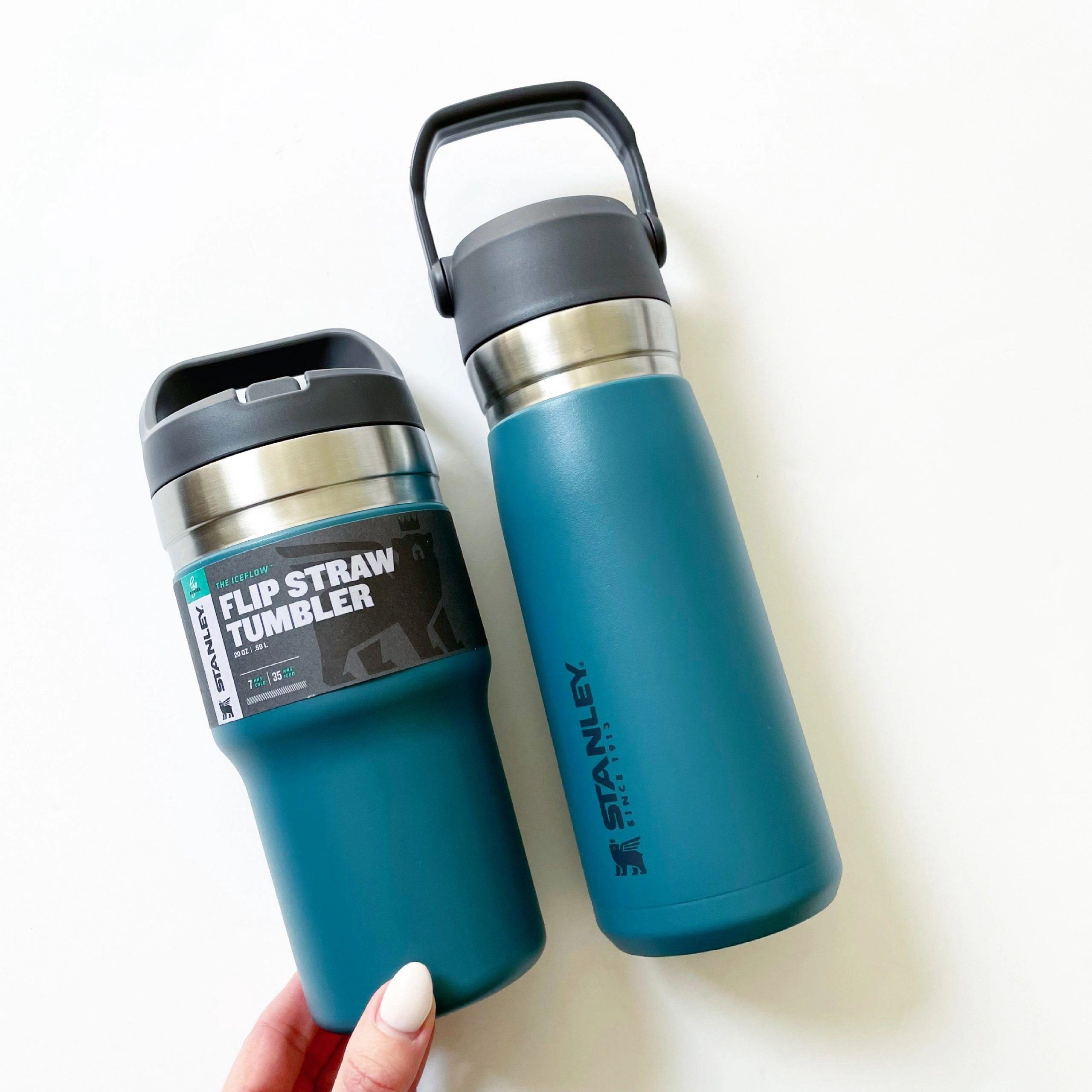 Stanley IceFlow Stainless Steel Water Bottle and Tumbler
