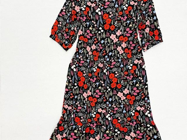 Wonder Nation Girls Floral Print Maxi Dress