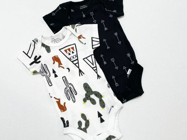 Modern Moments by Gerber Organic Baby Boys' Desert Bodysuit