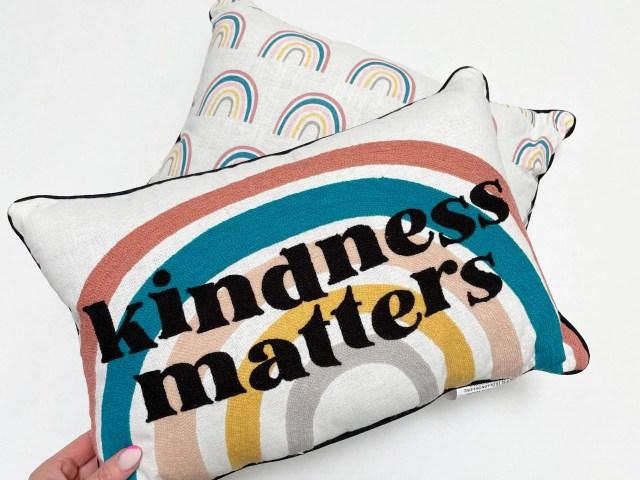 Kindness Matters Decorative Throw Pillow