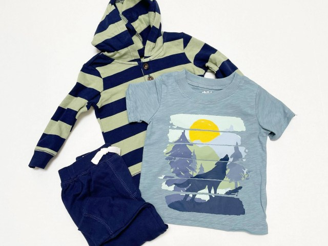 Child of Mine by Carter's Baby Boy & Toddler Boy Long-Sleeve Outfit Set