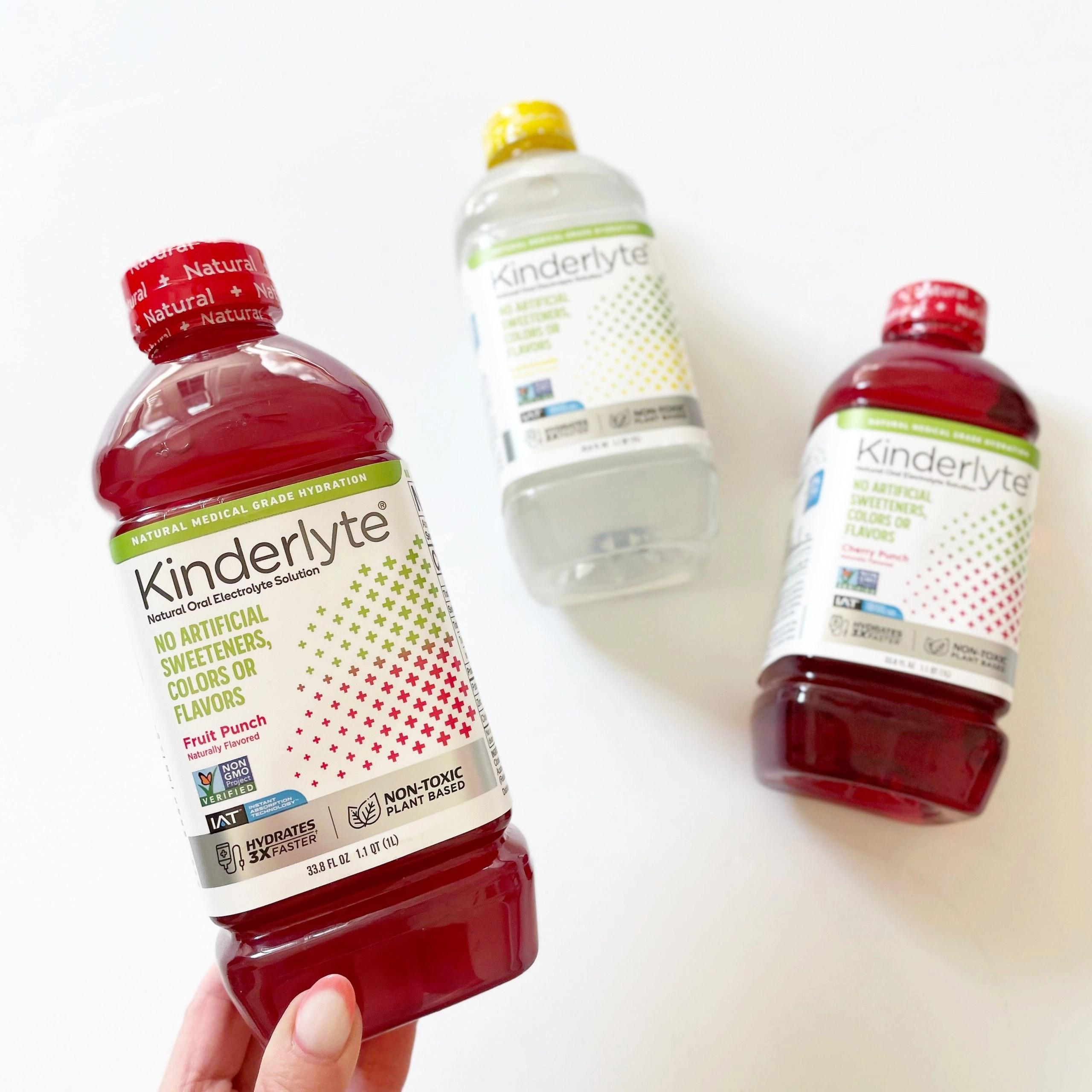 Kinderlyte Natural Electrolyte Solution