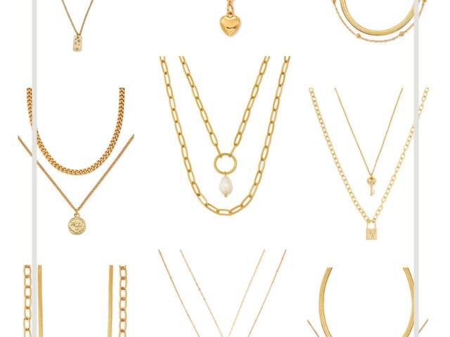 Scoop Layered Necklaces