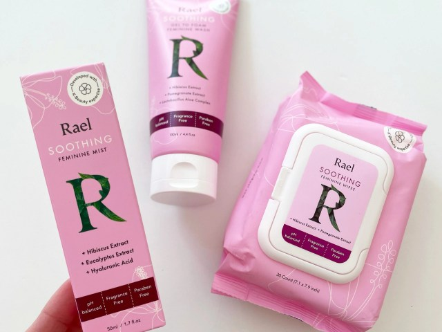 Rael Soothing Feminine Daily Mist, Wipes and Wash