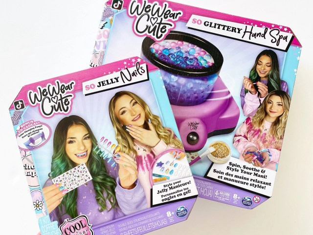 Cool Maker, We Wear Cute So Jelly Nails Manicure Kit and So Glittery Hand Spa