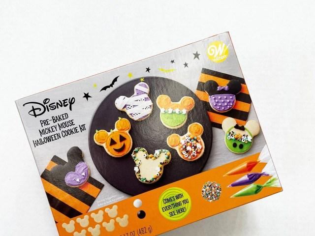 Wilton Disney Pre-Baked Mickey Mouse Halloween Cookie Decorating Kit
