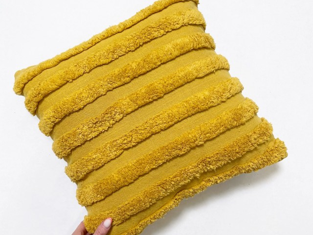 Mainstays Textured Stripe Decorative Throw Pillow