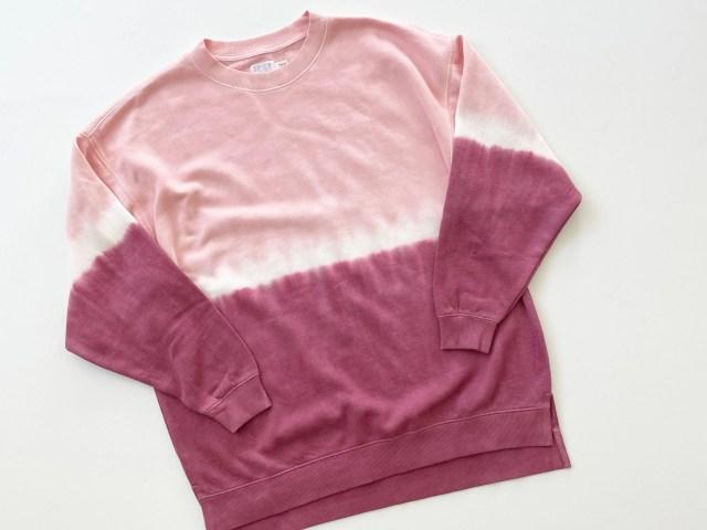 Time and Tru Crewneck Tunic Sweatshirt
