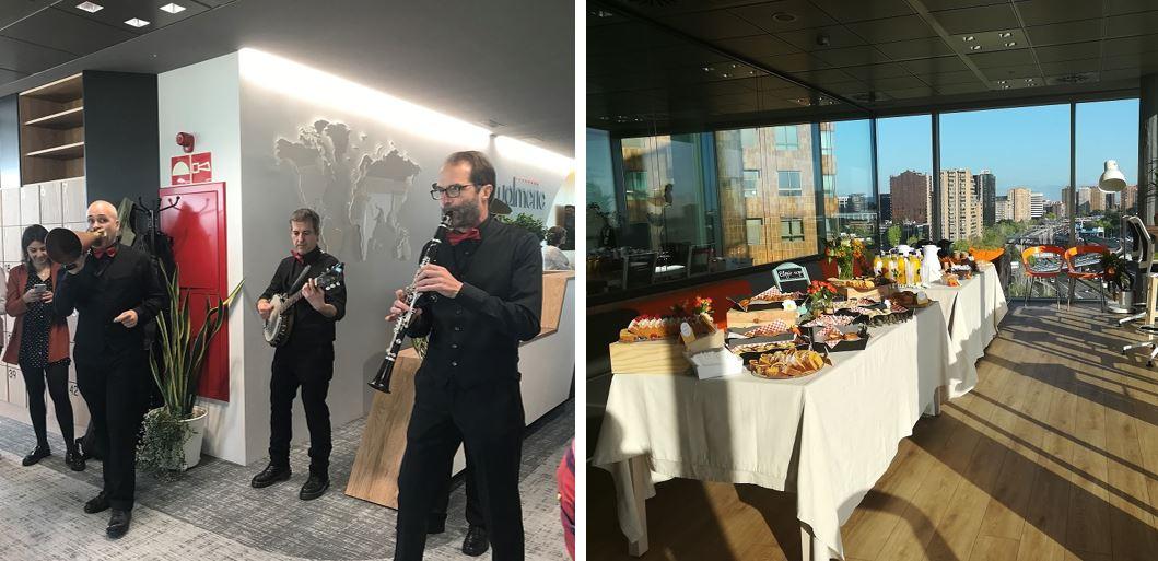 Banda de Jazz y desayuno