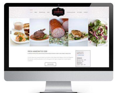 5 Corners Kitchen Restaurant Website built by Walnut Hill Design