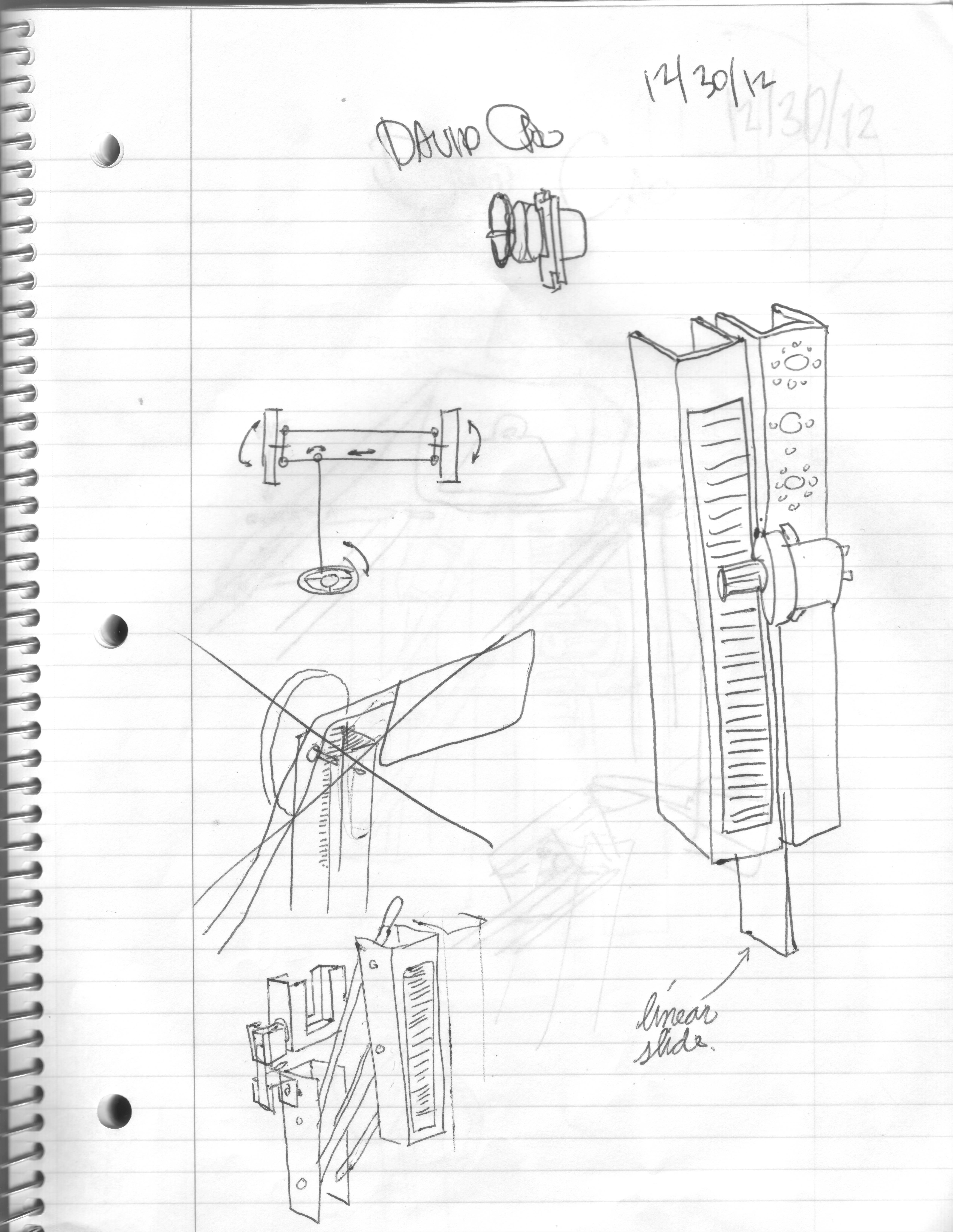 12 30 Linear Slide Mechanism New Idea David Cao